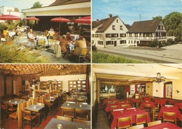 Carte Multivue Suisse, Staad (SG), Hôtel Löwen, Dancing Bar, Fam. Jos. Müller, Foto Gross, Parfait état - SG St. Gallen