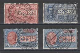 REGNO 1925-26 ESPRESSI SERIE CPL USATA - 1900-44 Victor Emmanuel III.