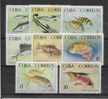 Cuba N°934/941 - Poissons - Neuf ** Sans Charnière - TB - Kuba