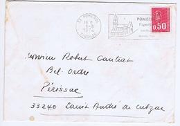 GIRONDE - Flamme Illustrée à Droite POMEROL Du 5 - 8  1974 - Marcophilie (Lettres)
