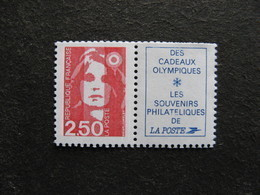 TB  N° 2715 A , Avec Vignette, Neuf XX. - Francia