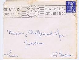 INDRE - Flamme Illustrée Continue CHATEAUROUX R.P. Du 29 - 10  1958 - Marcophilie (Lettres)