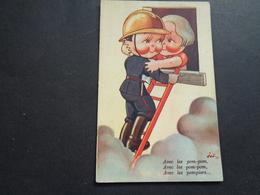 Illustrateur ( 1920 )  Joë  -  Brandweer   Pompier - Autres Illustrateurs