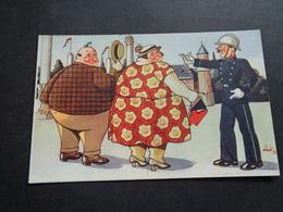 Illustrateur ( 1921 )  Joë  -  Agent  Gendarme  Politieagent - Autres Illustrateurs