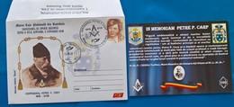 ROMANIA-2019-Masonic History - In Memory PETRE  P.CARP-fFDC - Freemasonry