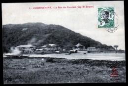 CPA ANCIENNE VIÊT-NAM- COCHINCHINE- CAP SAINT-JACQUES- LA BAIE DES COCOTIERS- VILLAS - Vietnam