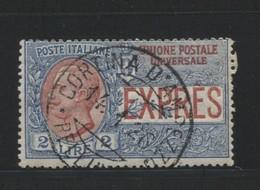 REGNO 1925-26 ESPRESSI 2 LIRE USATO - 1900-44 Victor Emmanuel III.