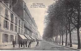 POSTE & FACTEURS - 29 - QUIMPER : Les POSTES Et Boulevard De L'Odet - CPA - Finistère BRETAGNE - Poste & Facteurs