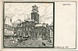 CHARLEVILLE. Rathaus (illustrateur HARTWIG 1915) - Charleville