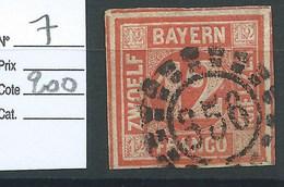 ALLEMAGNE - BAVIERE : N° 7. Cote 200€ - Bavaria