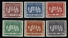 Belg. Congo / Congo Belge 1958 OBP/COB 344/349**, Mi 337/42** MNH - 1947-60: Neufs