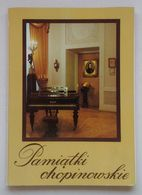 Chopin Souvenirs 9 Postcards Cartes Postales Poland Pologne 1984 - Musik Und Musikanten