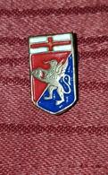 GENOA CFC, VINTAGE BUTTONHOLE BADGE - Football