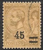 MONACO  1924 -  Y&T  70 - Prince Albert 1° - Oblitéré - Monaco