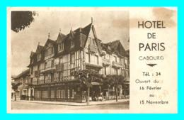 A761 / 157 14 - CABOURG Hotel De Paris - Cabourg