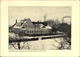 Cp Oranienburg Im Kreis Oberhavel, Blick Auf Das Edener Genossenschaftshaus Im Winter - Deutschland