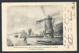 +++ CPA - FLEURUS - Moulin Naveau...Napoleon 1er En 1815...bataille - Illustrateur   // - Fleurus