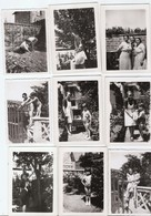 SANNOIS 1935  LOT DE 19 ANCIENNES PHOTOS - Lieux
