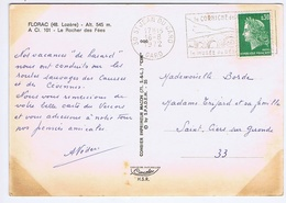 GARD - Flamme Illustrée à Droite ST JEAN DU GARD Du 16 - 8  1972 - Marcophilie (Lettres)