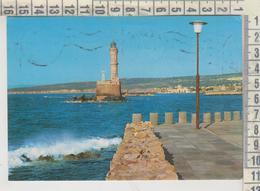 Creta, Crete, Kreta Grecia, Greece Canea, La Canee, The Harbour, Le Port, Der Hafen, Il Porto Lighthouse - Grecia
