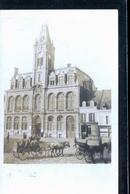 BOHAIN HOTEL DE VILLE OCCUPEE AVANT SA DESTRUCTION  1918 PHOTO CARTE RARE - Francia