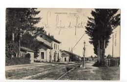 CHAMPLITTE - 70 - Haute Saône - La Gare - Francia