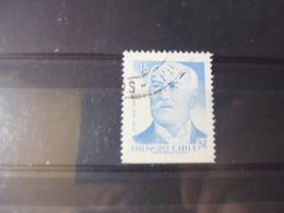 CHILI YVERT N°821 A - Chili