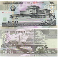 Korea North - 500 Won 2007 UNC Comm. P. 55 - 95 Y Lemberg-Zp - Corea Del Nord