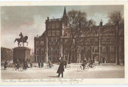 Den Haag - Buitenhof Met Standbeeld Koning Willem II - Nr 570 Uitg. Artur Klitzsch - Den Haag ('s-Gravenhage)
