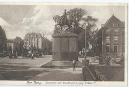 Den Haag - Buitenhof Met Standbeeld Koning Willem II - Nr 722 Uitg. Artur Klitzsch & Co - Den Haag ('s-Gravenhage)