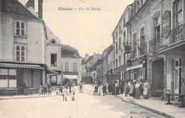 71 - CHAGNY : Rue Du Bourg  - CPA Village ( 5.600 Habitants) - Saône Et Loire - Chagny