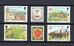 Isola Di MAN :  Millennio Di Tynwald  -  6  Val.  MNH**  Del   16.05.1979 - Isola Di Man