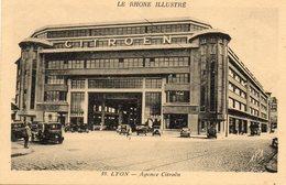 AGENCE CITROEN....EDIT APA POUX   NO 39 - Lyon
