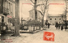 MONSEMPRON-LIBOS....AVE DE LA GARE....voir Scan   En L Etat - Other Municipalities