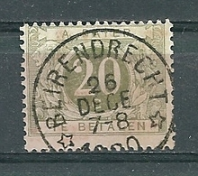 TX 6 Gestempeld (sterstempel) BEIRENDRECHT - COBA 4 Euro - Taxes