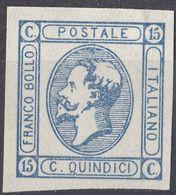 ITALIA - 1863 - Unificato 13, Nuovo Senza Gomma, Come Da Immagine. - 1861-78 Victor Emmanuel II.