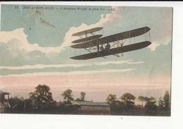 CPA Aviation  -  L'Aéroplane Wright En Plein Vol  - Achat Immédiat - (cd011 )) - 1914-1918: 1. Weltkrieg