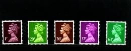 GREAT BRITAIN - 1996  MACHIN  LITHO  SET   MINT NH - 1952-.... (Elizabeth II)