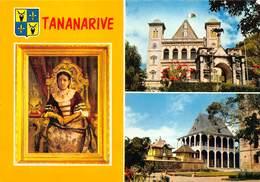 Afrika Afrique Madagascar Tananarive   Repoblika Malagasy Tananarive Anaty Rova  Le Palais De La Reine     Barry 1906 - Madagascar