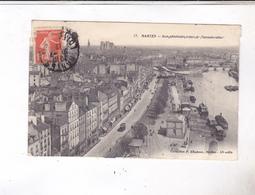 CPA DPT 44 NANTES, VUE GENERALE PRISE DU TRANSBORDEUR En1912! - Nantes