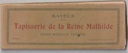 Calvados : BAYEUX  CARNET  ENTIER , Tapisserie De La Reine  Mathilde ( Coll. R D  Bayeux ) Queen Tapestry Matilda's - Bayeux