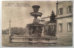 15888 -  Frascati - Villa Mondragone - La Fontana Sul Piazzale Della Villa - Italia