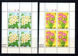 TUVALU    1978    Wild  Flowers    4  Sheetlets     MNH - Tuvalu