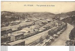 Tulle - Vue Générale De La Gare - Tulle