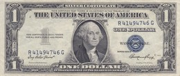 BILLETE DE ESTADOS UNIDOS DE 1 DOLLAR DEL AÑO 1935 E LETRA R-G WASHINGTON  (BANK NOTE) - Billetes De La Reserva Federal (1928-...)
