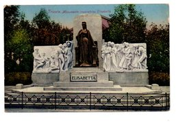 TRIESTE. MONUMENTO IMPERATRICE ELISABETTA. - Trieste
