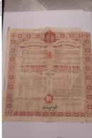 EMPRUNT ROYAUME DE YOUGOSLAVIE DE JUIN 1931  31 Cm X 33 Cm - Andere