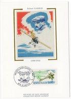 Carte Maximum 1988 - Centenaire De La Naissance De Roland Garros  YT 2544 - 974 St Denis - Maximum Cards