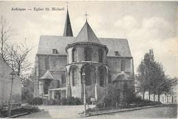 Jodoigne NA36: Eglise St Médard 1924 - Jodoigne
