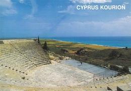 * Cyprus Postcard * Curium Ancient Theatre Limassol * Collection : Themis Christodoulou * Number : C11 * - Chipre